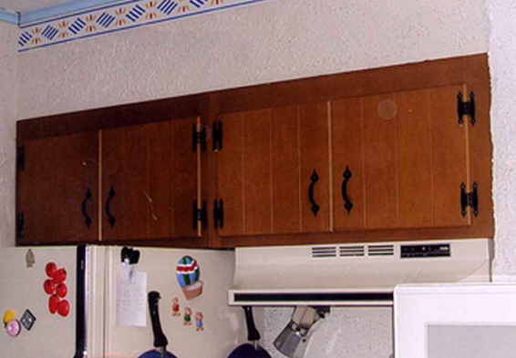 Cabinets Refinishing 2Before
